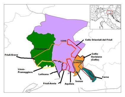 Friuli_wine_regions