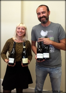 Myself + Giovanni Acari + Soon-to-be-drank Franciacorta